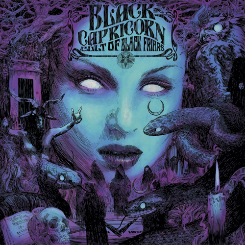 Black Capricorn - The Cult of Black Friars CD 2015